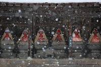 野沢温泉村雪が積もりました。 - 野沢温泉とその周辺いろいろ2