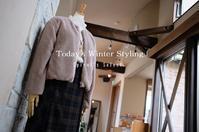 """Today's Winter Styling...12/9sun"" - SHOP ◆ The Spiralという館~カフェとインポート雑貨のある次世代型セレクトショップ~"