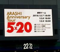 嵐5×20の東京コンサート行ってきました! - 月の旅人~美月ココの徒然日記~