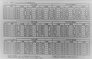 2018フレンドシップ組み合わせ - Tax-accountant-office ソフトボールブログ