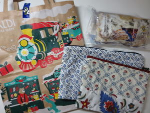 クリスマスソックス ~ソレイアードポーチでリメイク 1 -
