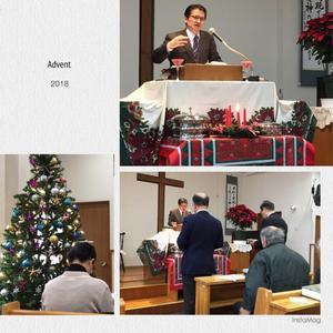 Advent始まる - 中山教会便り