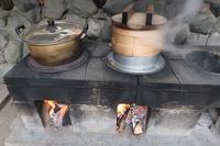 ■餅つき・谷戸鍋で締めくくり18.12.9 - 舞岡公園の自然2