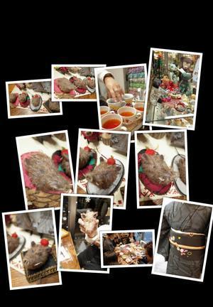 干支教室「イノシシ(頭部壁掛け)」@Dear Bear 目黒店 - 動物・テディべア 時々 パリの街角動物