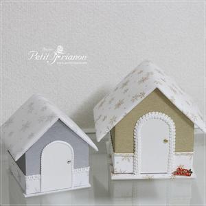 生徒さんの作品 2018.Nov.⑦ すごいハウスとWALPA - Atelier Petit Trianon   *** cartonnage & interior ***