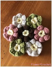 【作成中】円座☆レウィシアのモチーフ - Flower*Crochet