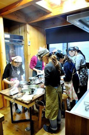 12月 シフォン教室<応用講座> - 手作りお菓子のお店「chiffon chiffon」