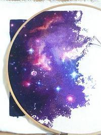 ≪クロスステッチ≫HEAD~Magellanic Cloud~進捗#6 - magic hour