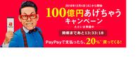 PayPayが「100億円あげちゃうキャンペーン」 - 娘といっしょ