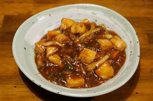 揚げ豆腐みそ煮込み - マスターのブログ