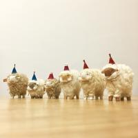 田路恭子さんの羊オブジェたち - 届けられたもの