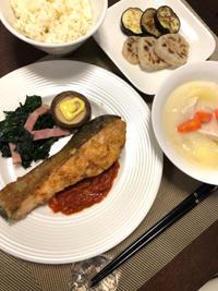 鮭のムニエル - 庶民のショボい食卓