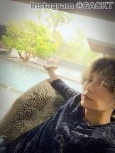 今日のGACKTライン:今日は雨、でも綺麗だなぁ。 - 風恋華Diary