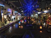 東京ドームシティのイルミネーション - 散歩ガイド