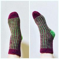 片方できた! - セーターが編みたい!