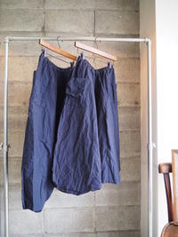 linenu works/sarrouel pants - UTOKU Backyard