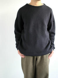 alvanaWOOL WAFFLE CREW NECK P/O - 『Bumpkins putting on airs』