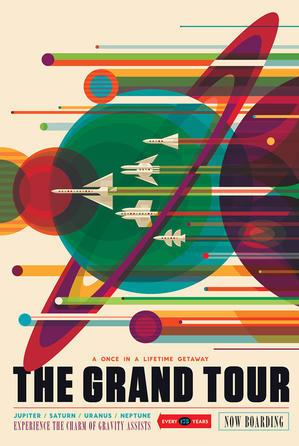宇宙のポスターライブラリー -