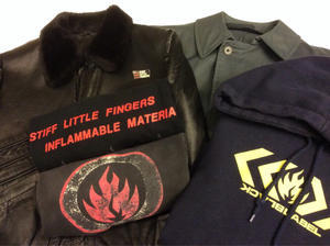 「 BLACK LABEL & STIFF LITTLE FINGERS 」 - GIANT BABY    used&vintage clothing & culture & happy