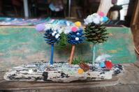 クリスマスツリー、ワークショップ行ってきました。 - 手作り生活~道草屋日記~