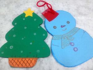 ☆立体クリスマスカード・ツリーと雪だるまさん☆ - ガジャのねーさんの  空をみあげて☆ Hazle cucu ☆