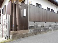 施工事例をUPしました・・・・ - 岐阜県 門塀・庭・車庫 エクステリア専門店アーステック