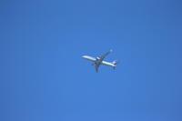 大空へ飛行機です。 - 平凡な日々の中で