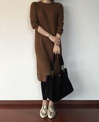 【暮らしニスタ】アラフォー女子にもおすすめ!GUニットワンピース - 40歳からはじめる「暮らしの美活」