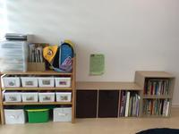 ランドセルとおもちゃ・絵本の収納(小1と3歳のお片付け) - 食日和 ~アレルギーっ子と楽しい毎日~