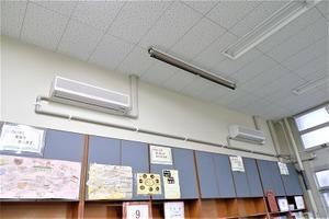 4-780) エアコン設置進捗状況報告・並四小図書室 -