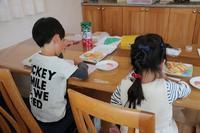 今日もアイシングクッキー作り - 大阪府池田市 幼児造形教室「はるいろクレヨンのブログ」