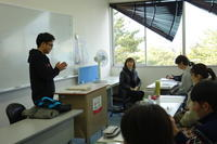 韓国語の授業風景 - 福島県立テクノアカデミー会津 観光プロデュース学科 学生ブログ「みてがんしょ!」