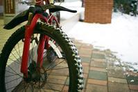 冬こそ自転車だという強者と自動車の雪上運転 - 照片画廊