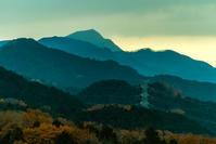 今日の山の夕暮れ - デジカメ写真集