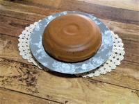釜ケーキ(笑)炊飯器でホットケーキ。 - 笑門来福日記。