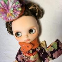 お正月用の晴れ着を出品しました♪ - *mllehana*のアトリエにようこそ♪