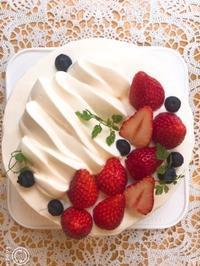 いちごショートケーキ - 調布の小さな手作りお菓子教室 アトリエタルトタタン