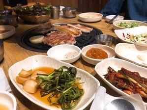 金海空港KALラウンジとJAL機内食 - 今日も食べようキムチっ子クラブ(料理研究家 結城奈佳の韓国料理教室)