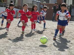 サッカー大会3位決定戦 -