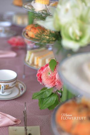 アフタヌーンティーパーティー - 幸せのテーブル*maison flowertuft-flowers&tablesXphoto