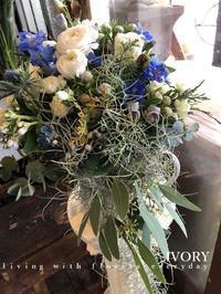 〜本日の花贈りから〜♬ -  Flower and cafe 花空間 ivory (アイボリー)