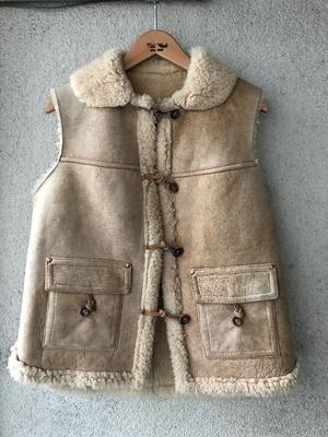 French Creek Mouton Vest - TideMark(タイドマーク) Vintage&ImportClothing