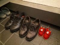 誰の靴でしょう - 柴犬 ひろゆきと さもない毎日&週末自宅カフェ里音 (りをん) 一之江・笑い療法士のいるカフェ