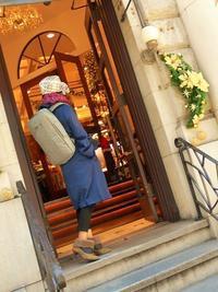 手作り帽子と一緒に - eri-quilt日記3