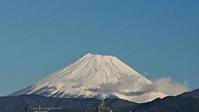12月14日、3日ぶり我が家から見た富士山と日々の暮らし -   心満たされる生活
