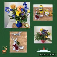 micaさんのクリスマスはミニヨン - Rico 花の教室