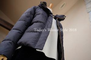 """Today's Winter Style 2018...12/14fri"" - SHOP ◆ The Spiralという館~カフェとインポート雑貨のある次世代型セレクトショップ~"