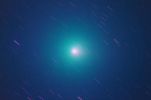 14日未明ウイルタネン、彗星核コンポジット・・・ - みずがきの森から