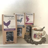 ●英国の紅茶 teapigs/ティーピッグス 3種入荷しました - 英国古物店 PISKEY VINTAGE/ピスキーヴィンテージのあれこれ