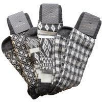 ALTO アルト ギフトに最適な2種(ウール混白Xグレー編み柄3Pセット&カシミアウールネイビーソックス) - 下町の洋服店 krunchの日記